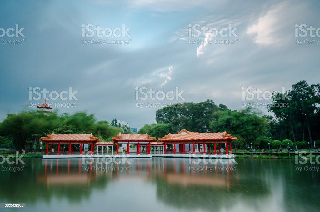 Chinese Garden Singapore royalty-free stock photo