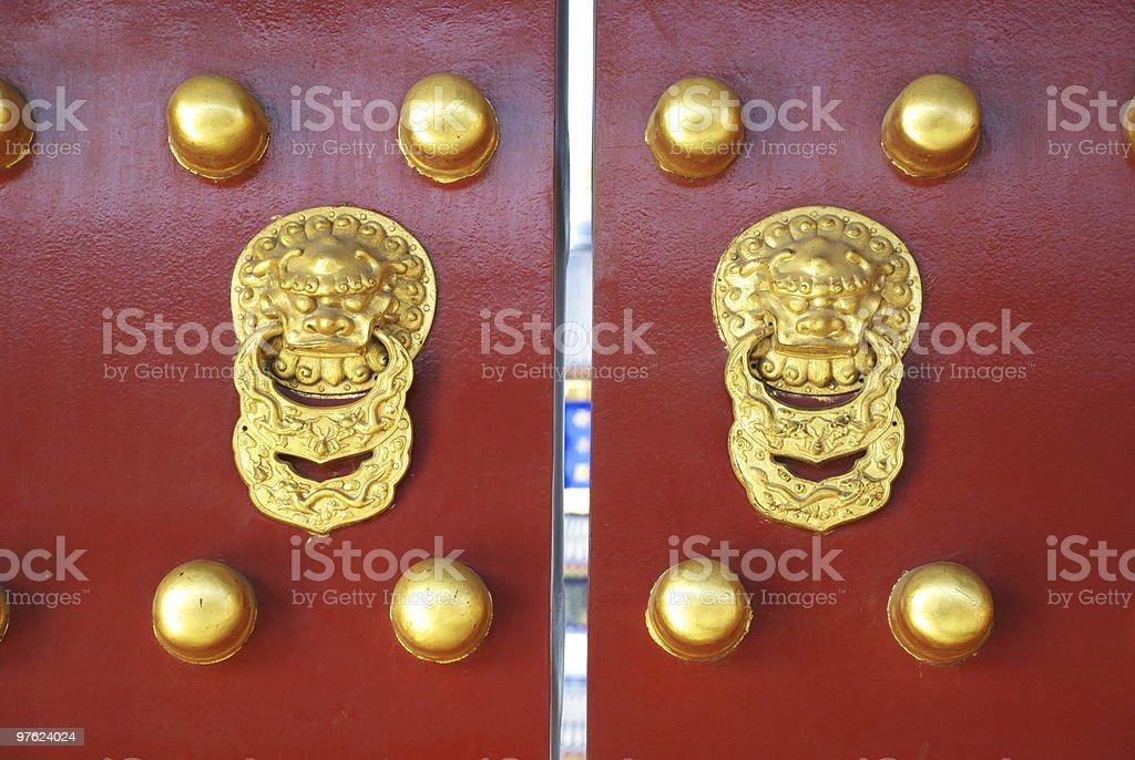 Chinese gate royalty-free stock photo