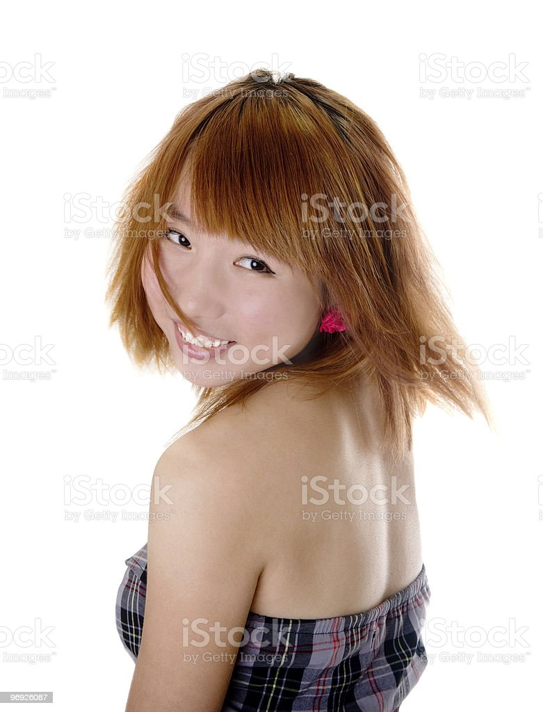 Chinese girl royalty-free stock photo