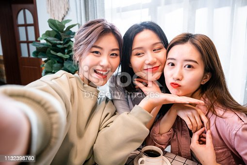 istock Chinese girls taking a selfie 1132398760
