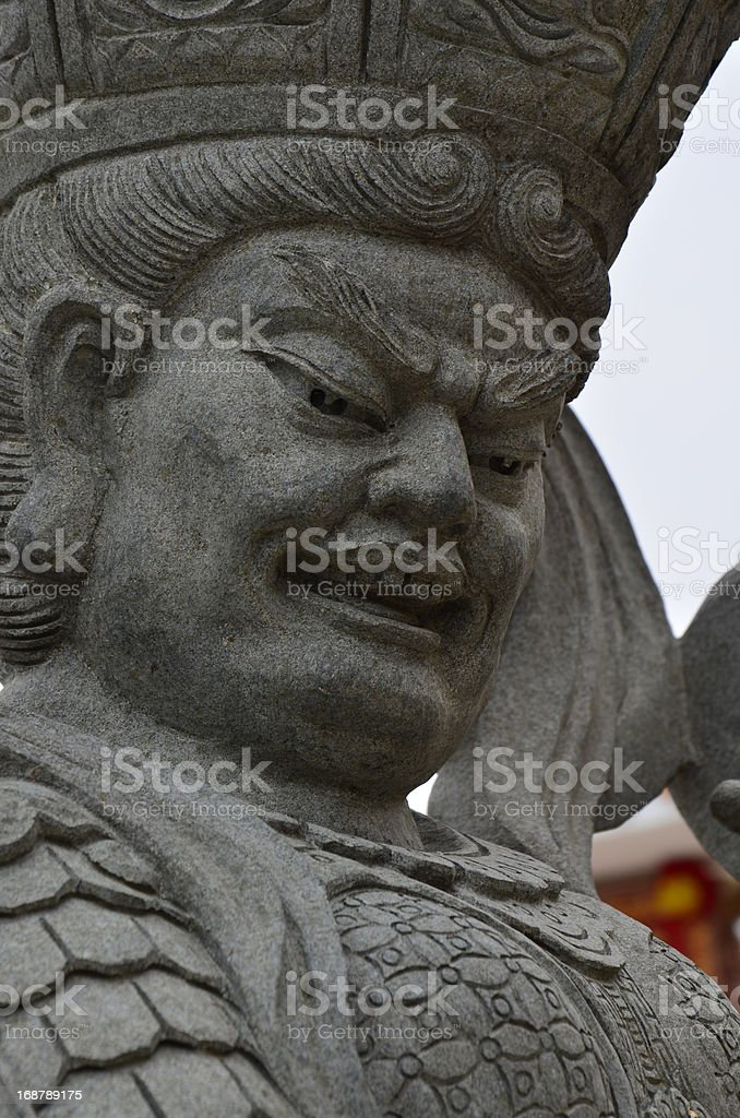 Chinese gods royalty-free stock photo