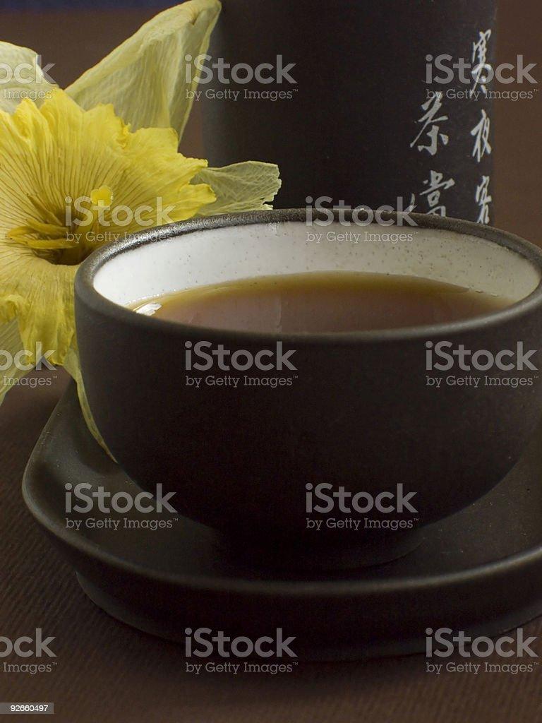 Chinese green tea III royalty-free stock photo
