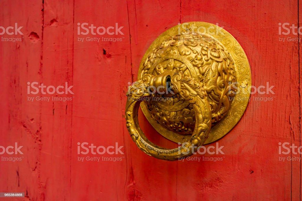 중국 손잡이 - 로열티 프리 0명 스톡 사진