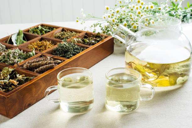 chinese health herbal tea - herbata ziołowa zdjęcia i obrazy z banku zdjęć