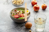 Chinese homemade soup noodles