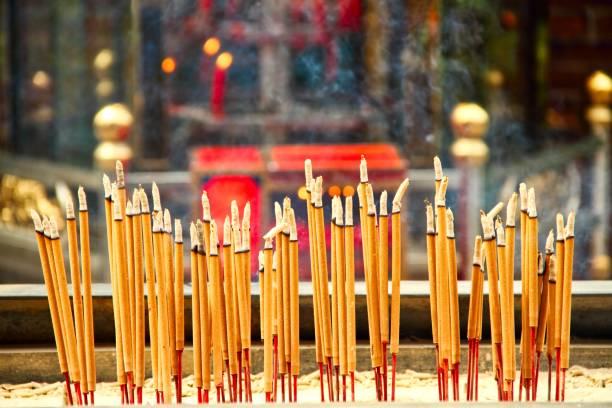 Chinese Incense stock photo