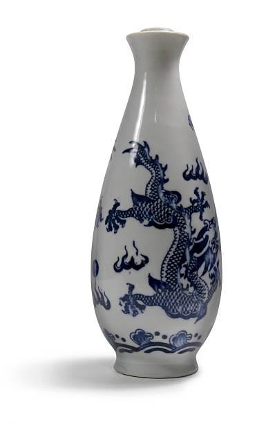 chinesische tinte glaskolben - foto tusche stock-fotos und bilder