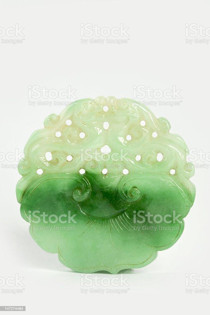 Chinese Jade stock photo