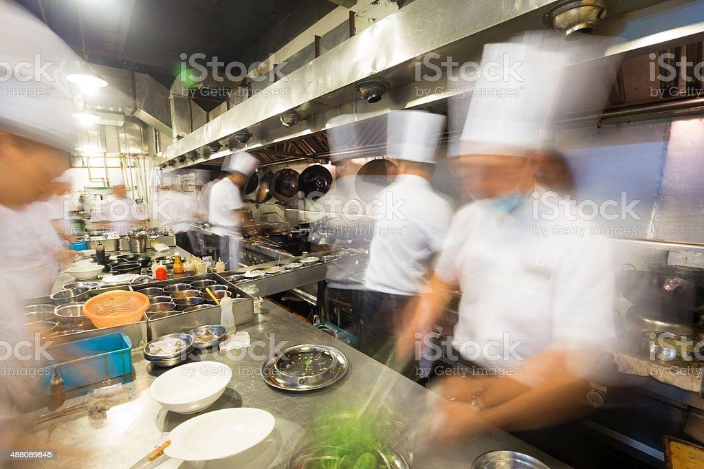busy restaurant kitchen. Chinese Kitchen Busy At Work Royalty-free Stock Photo Restaurant .