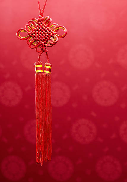 Chinese Knot Hanging Decoration stock photo