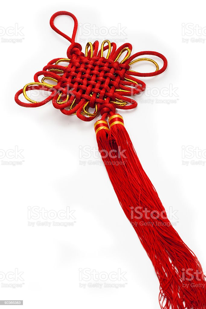 Chinese knot royalty-free stock photo