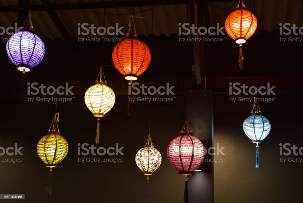 Chinese lamp foto stock royalty-free