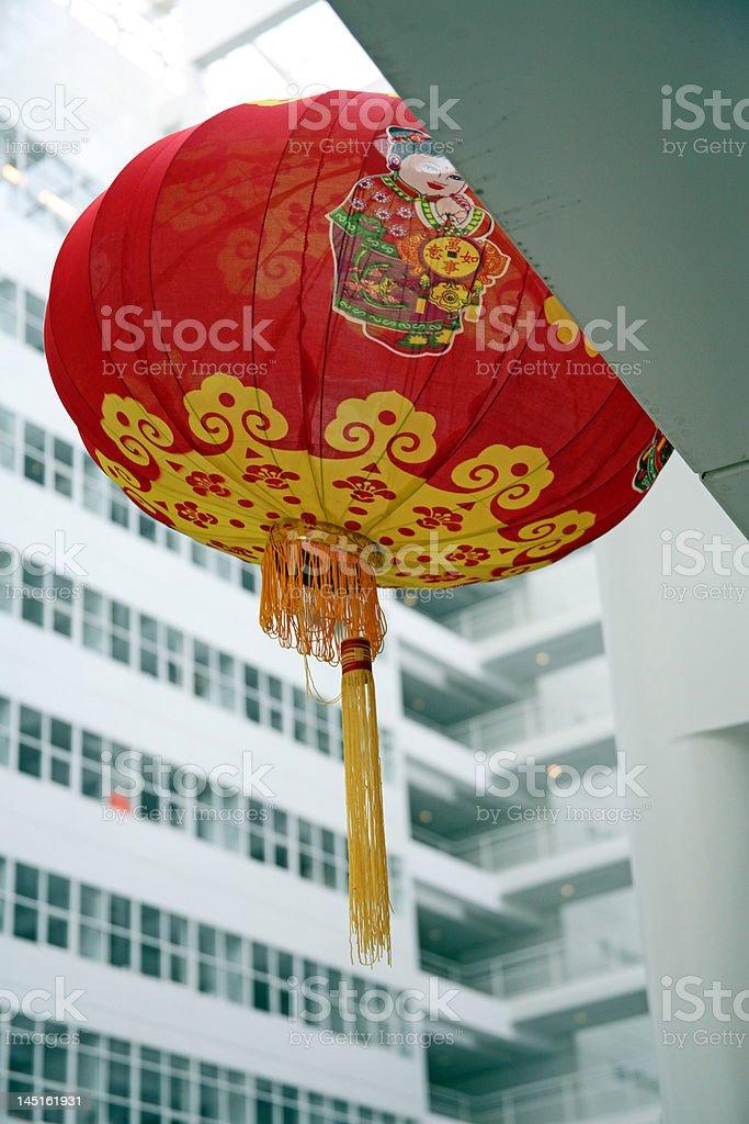 Chinese Lampoon stock photo