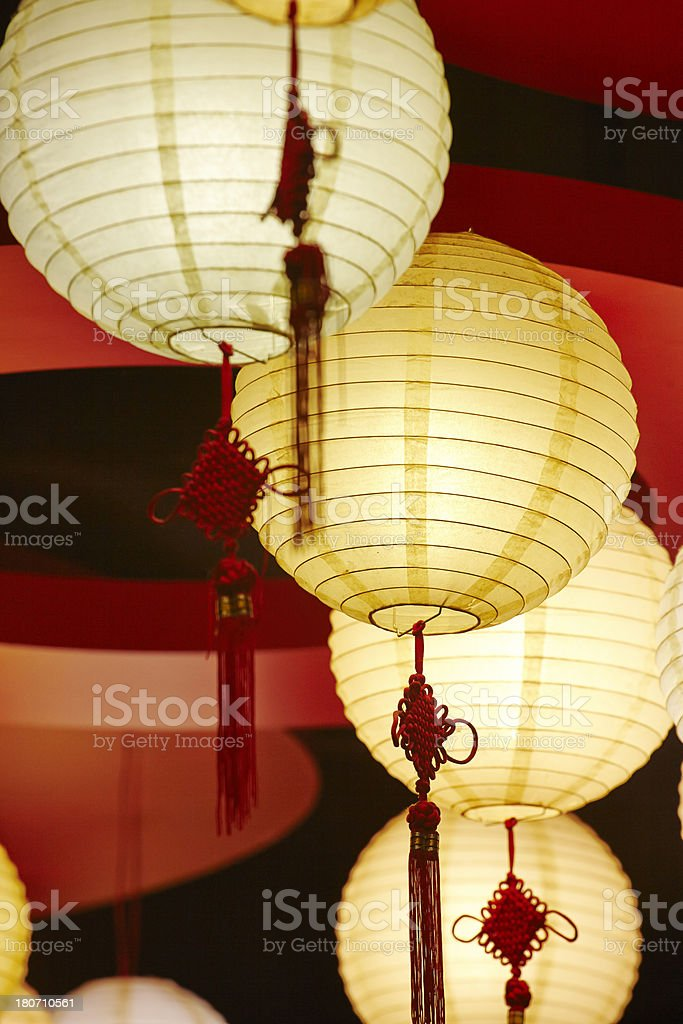 Chinese Lamps royalty-free stock photo
