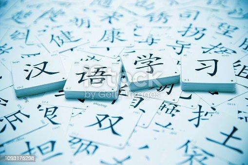 Chinese language learning background