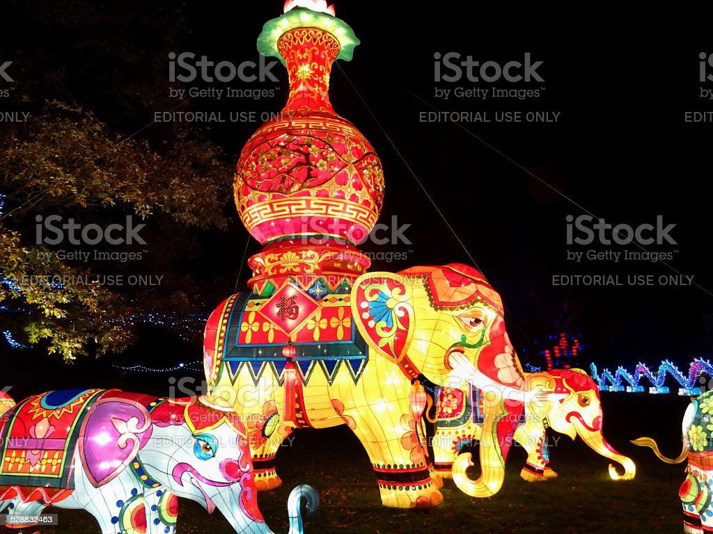 Decorazioni Con Lanterne Cinesi : Festival delle lanterne cinesi luci immagine dipinto