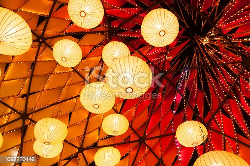 Chinese lantern for mid autumn festival