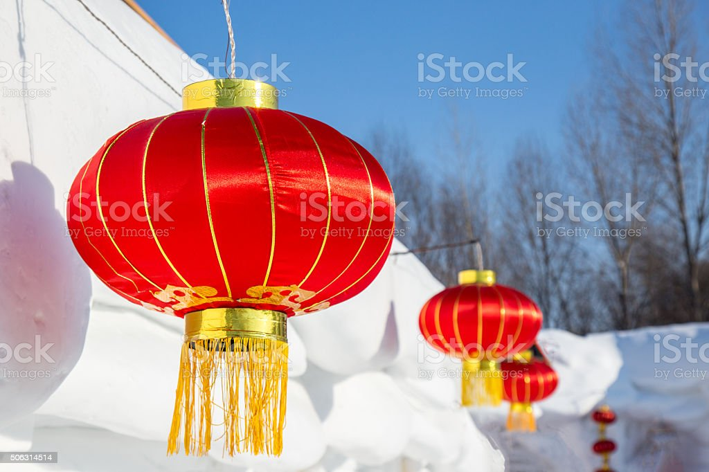 Chinese Lanterns Attached To Snow House Stock Photo & More Pictures on chinese flying lanterns, lace aloe plant, chinese sky lanterns, chinese red plant, flowering maple plant, bleeding heart plant, chinese rain tree, verbena plant, rhododendron plant, baloon flower plant, climbing nightshade plant, chinese tomato plant, chinese paper lanterns, chinese money plant, bittersweet plant, foxglove plant, abutilon plant, bird of paradise plant, lupine plant, snapdragon plant,