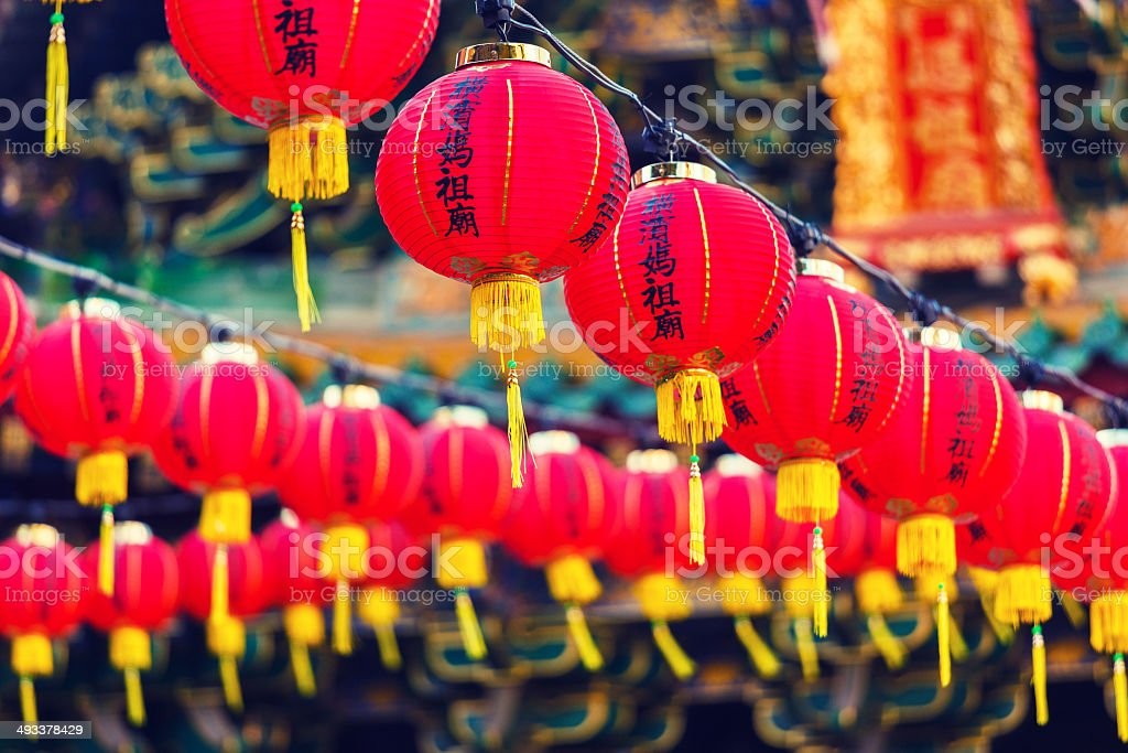 Chinese Lanters stock photo
