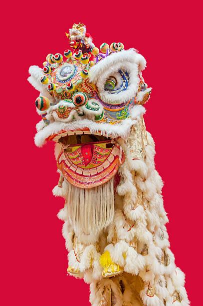 Chinese Lion Dance stock photo
