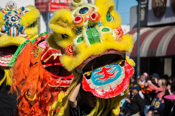 Lion chinois, le Golden Dragon Parede. - Photo