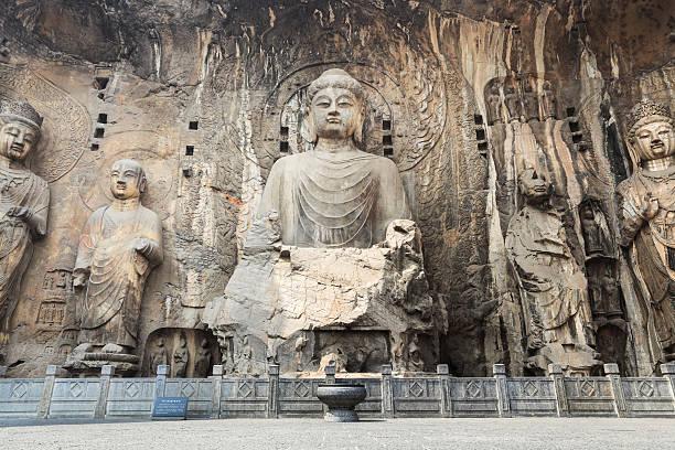Chinesische longmen-Grotten – Foto