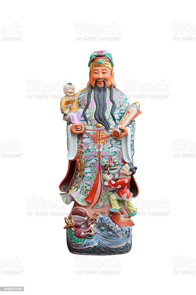 Chinese lucky gods, stock photo