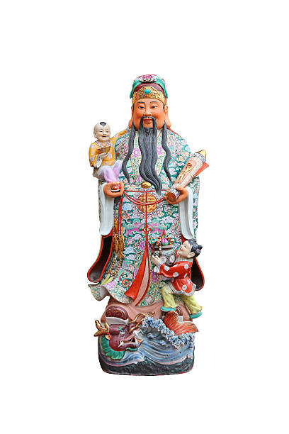 Chinese lucky gods, stock photo