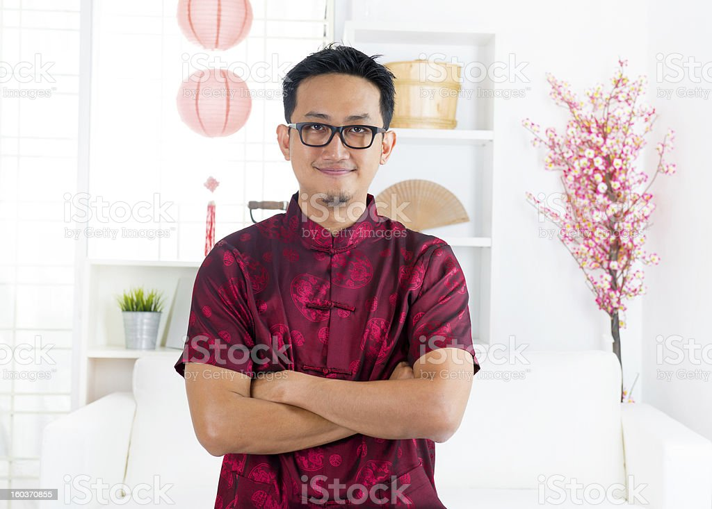 Chinese man stock photo