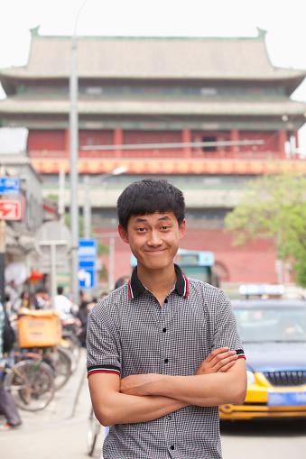 Chinese man street portrait