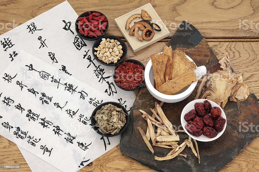 Chinese Medicine stock photo