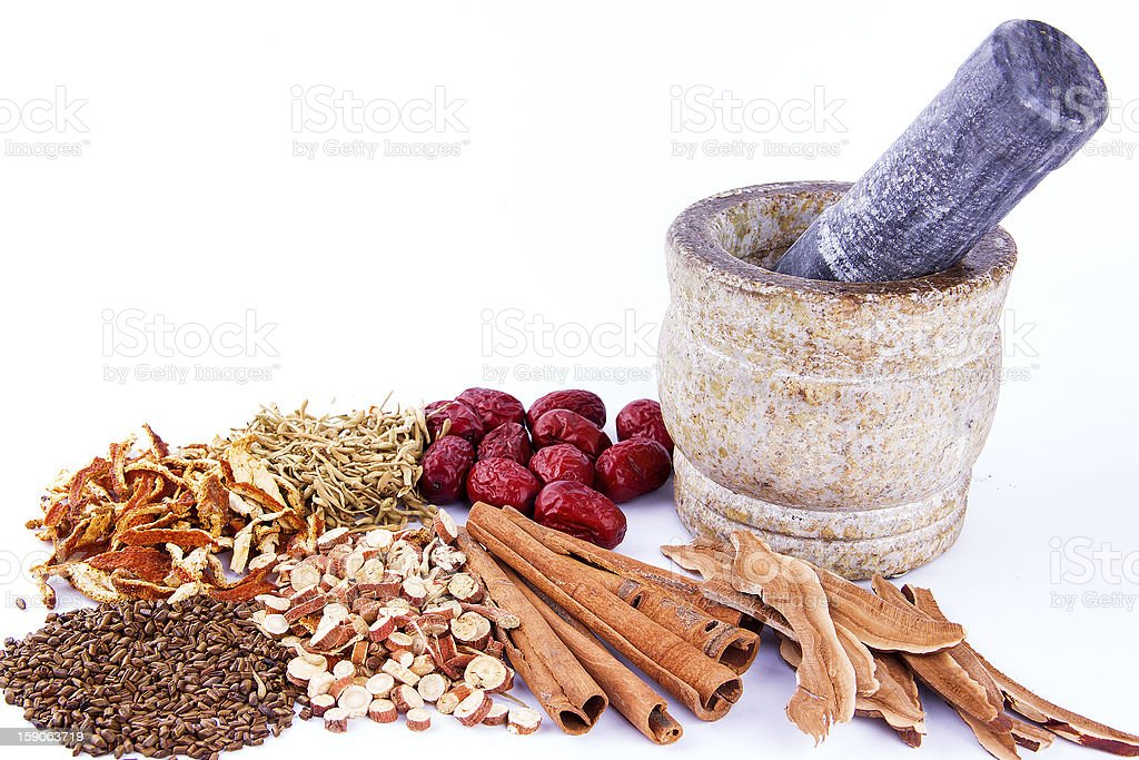 Chinese medicine varieties royalty-free stock photo