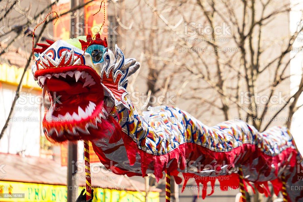 Chinese New Year 2015 in Paris stock photo