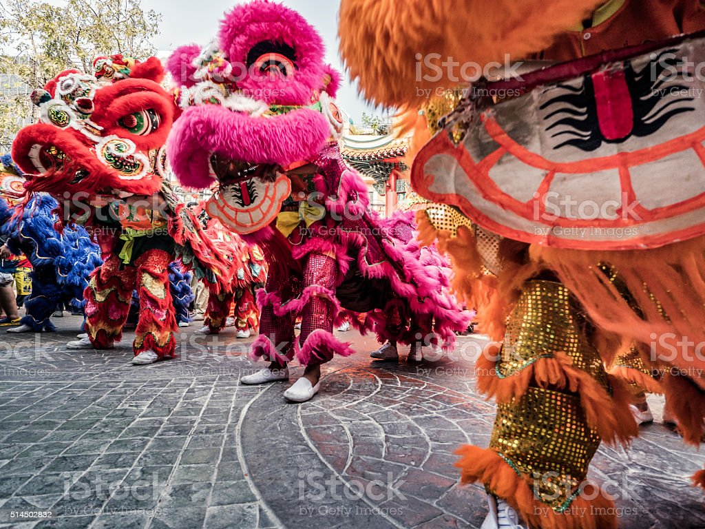 Chinese New Year celebration Chinatown Bangkok