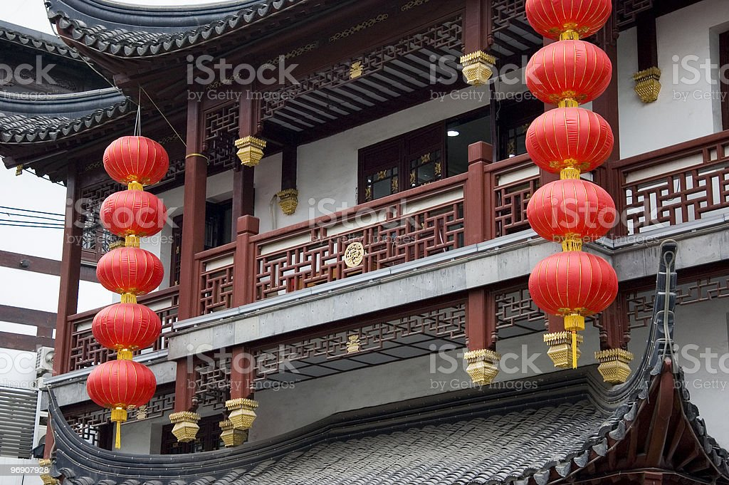 Chinese New Year decorations royalty-free stock photo