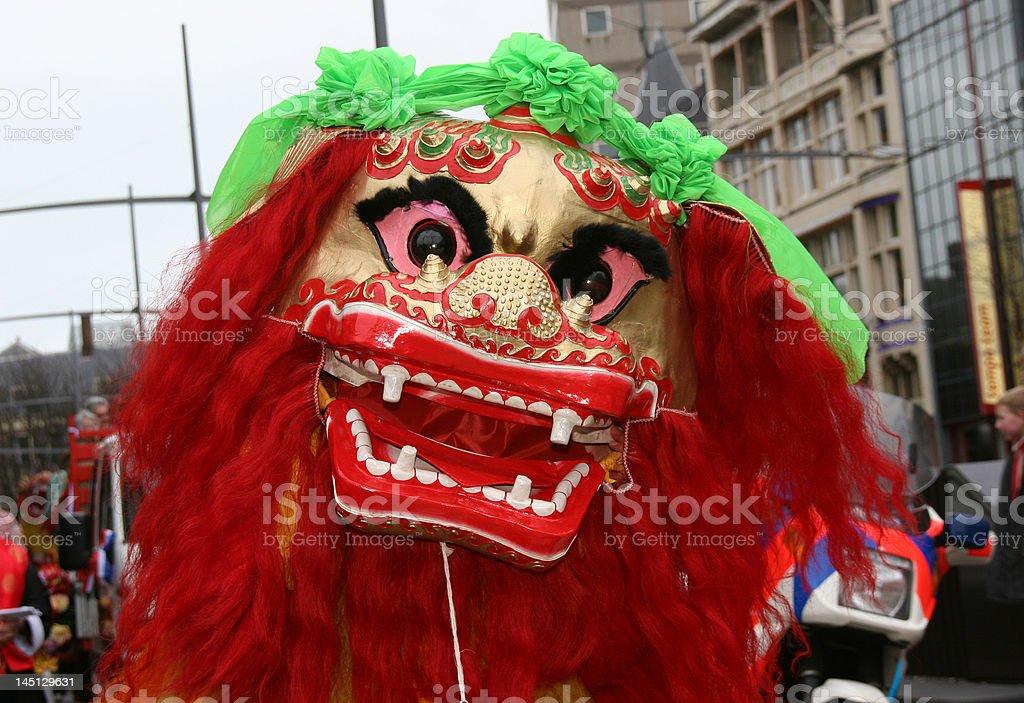 CHinese New Year: dragon II stock photo