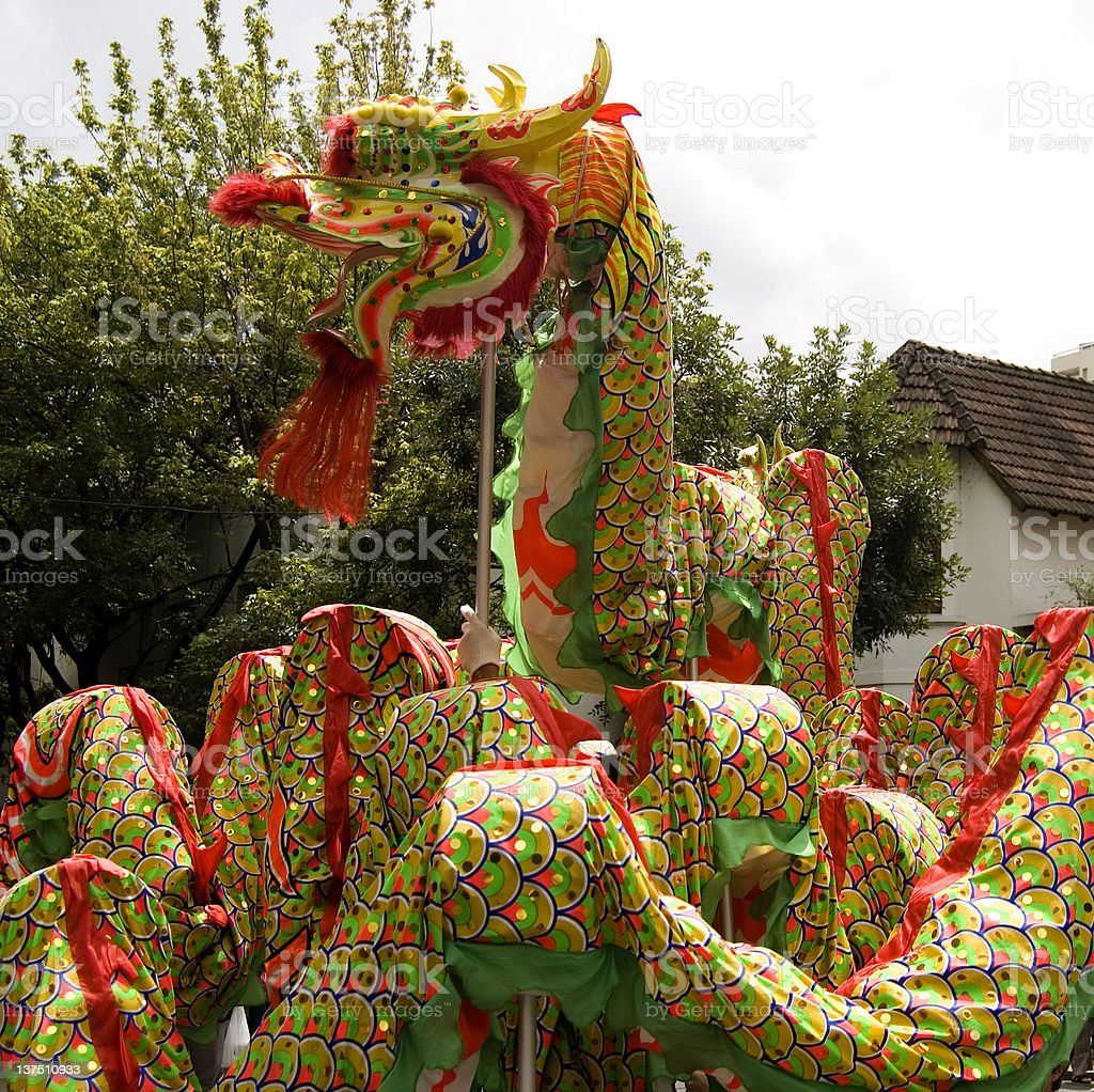 Chinese New Year Dragon royalty-free stock photo