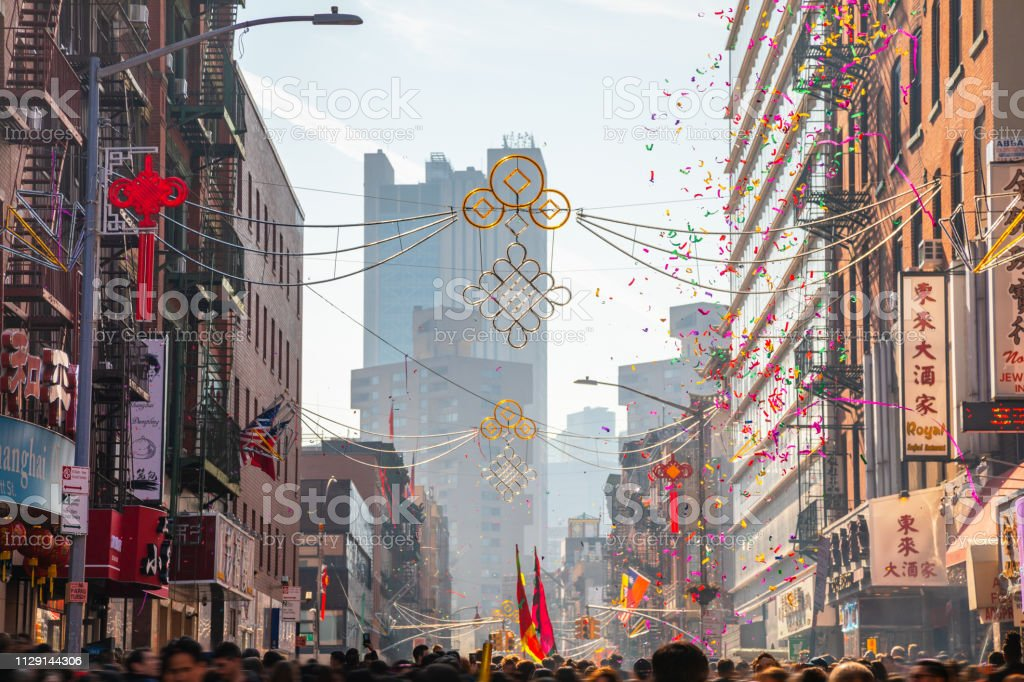 Chinese New Year In New York City Chinatown Stock Photo Download Image Now Istock