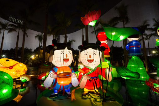 Chinese New Year Lantern Carnival 2013 Stock Photo - Download Image Now