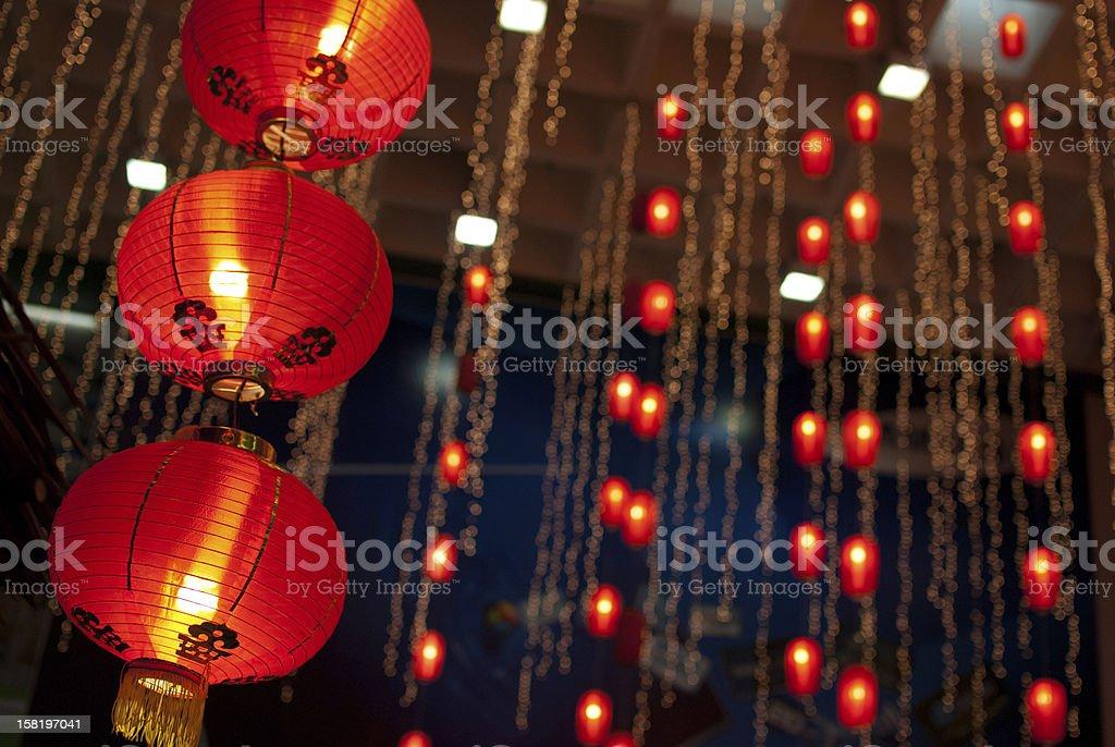 Chinese New Year Lantern royalty-free stock photo