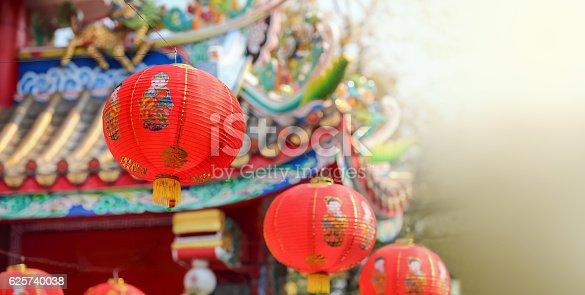 istock Chinese new year lanterns 625740038