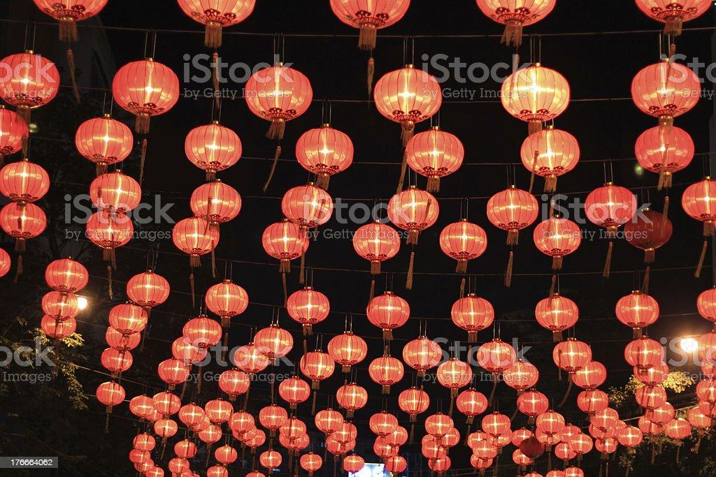 Chinese new year light royalty-free stock photo