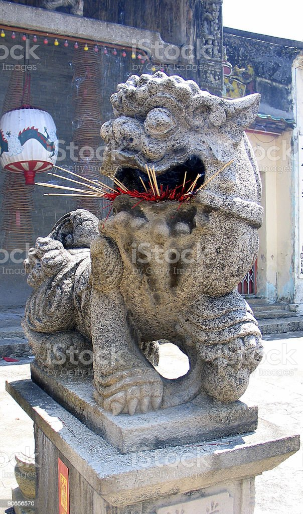 Chinese New Year Lion royalty-free stock photo