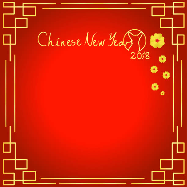 Royalty free chinese new year 2018 pictures images and stock photos 2018 chinese new year of dog vector design for text and greetings card banners m4hsunfo