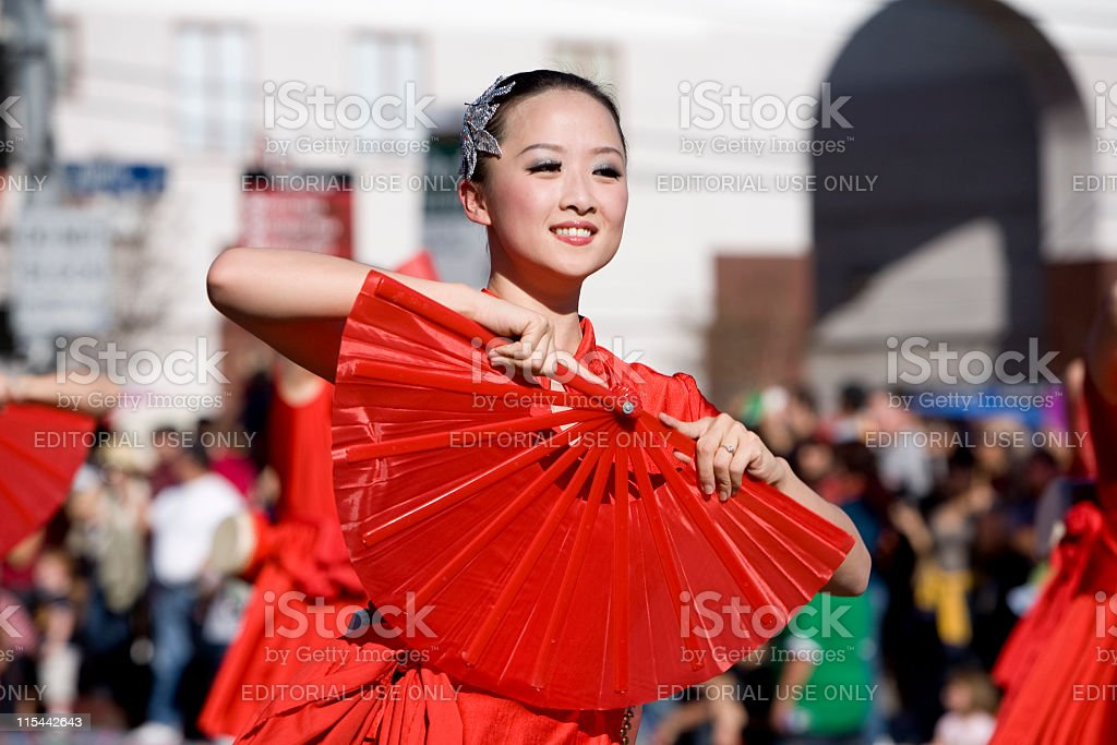 Chinese New Year Parade 1 stock photo