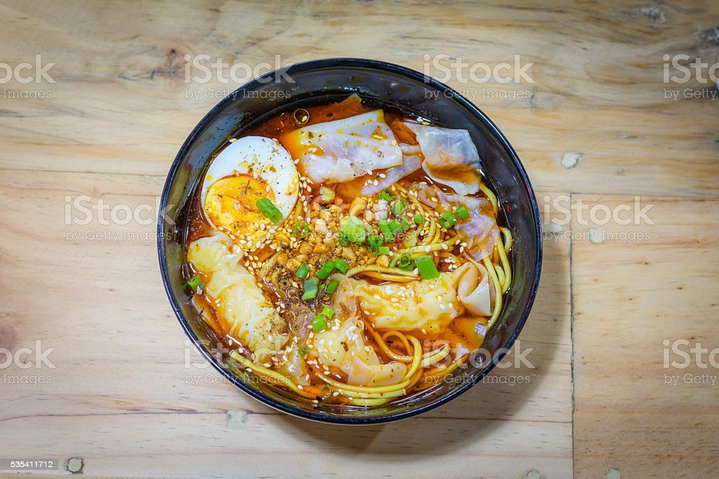 Chinese noodle royalty-free stock photo