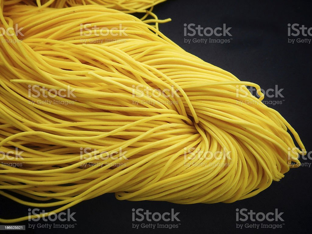 Chinese noodles royalty-free stock photo