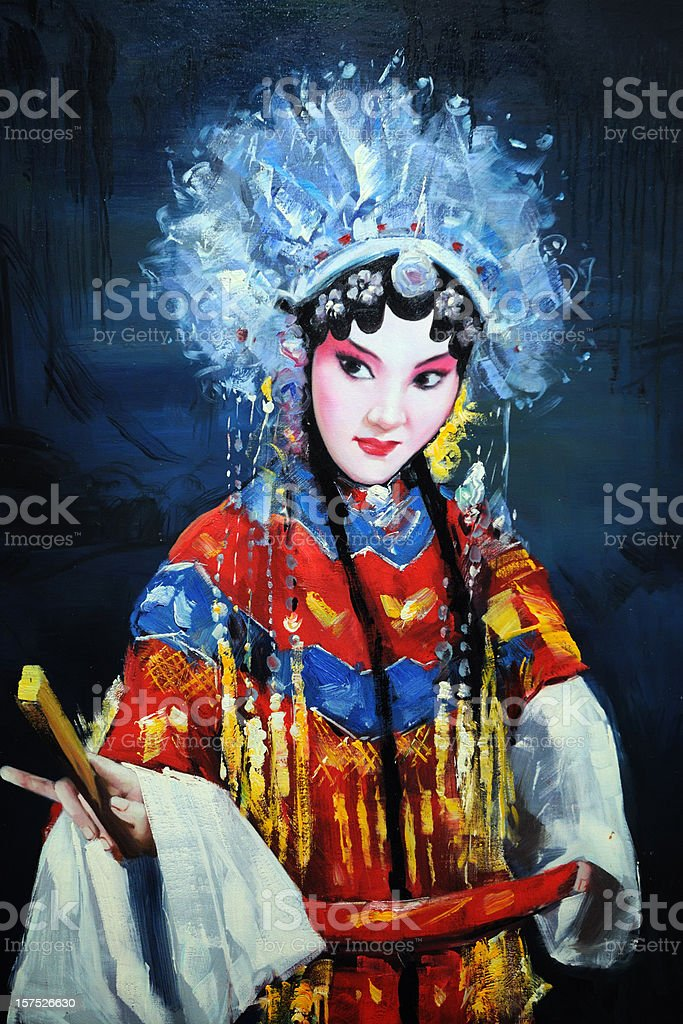 Chinese Opera - XLarge stock photo