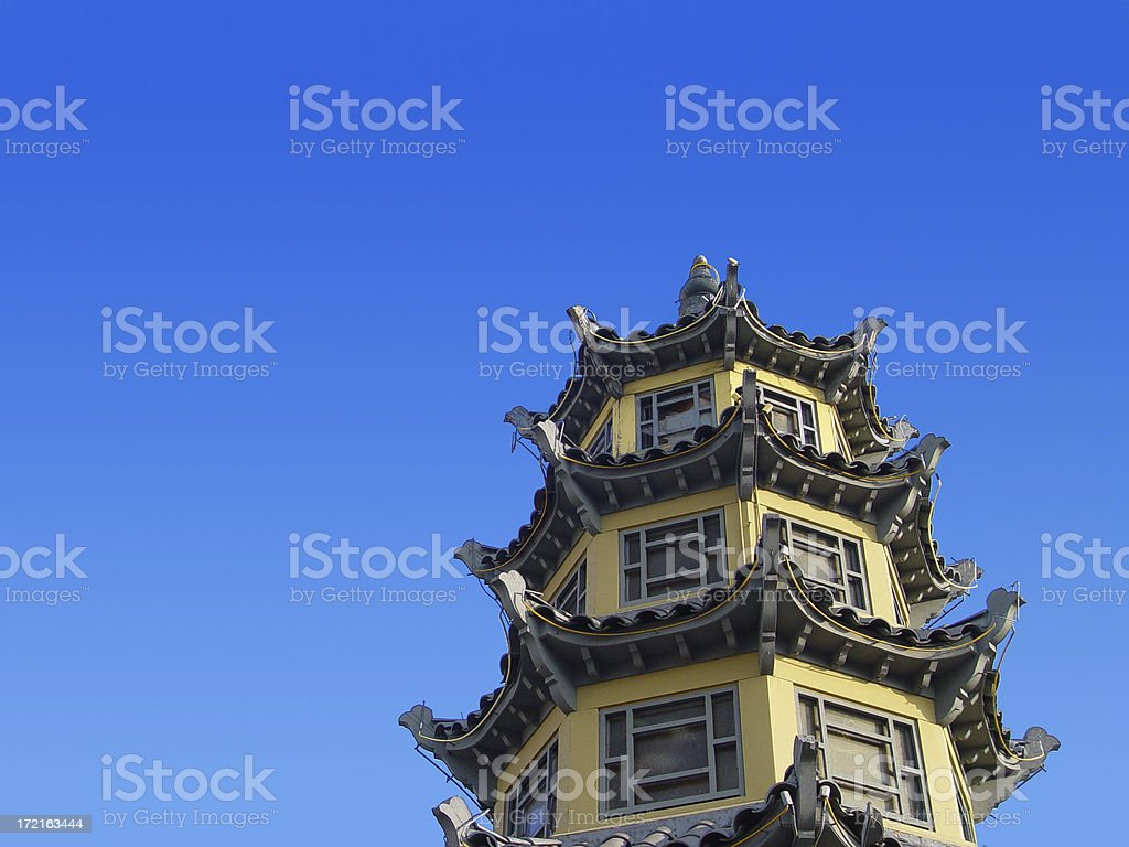 Chinese Pagoda royalty-free stock photo