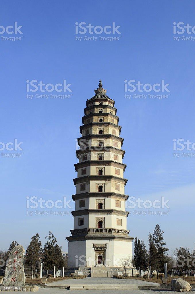 chinese pagoda royalty-free stock photo